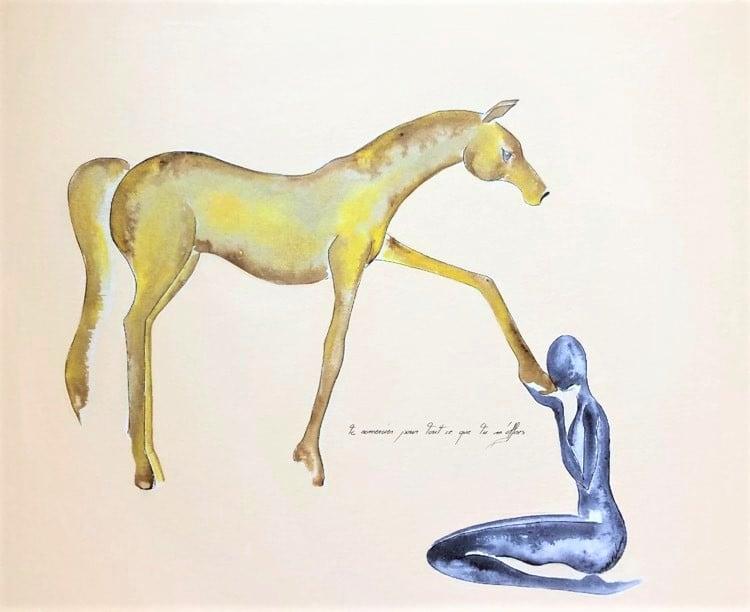 teambuilding cheval